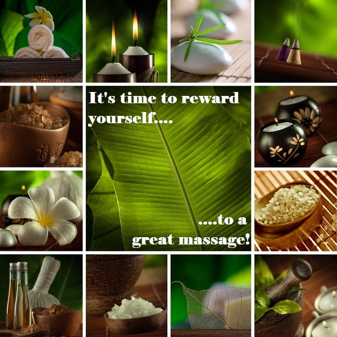 massage collage text
